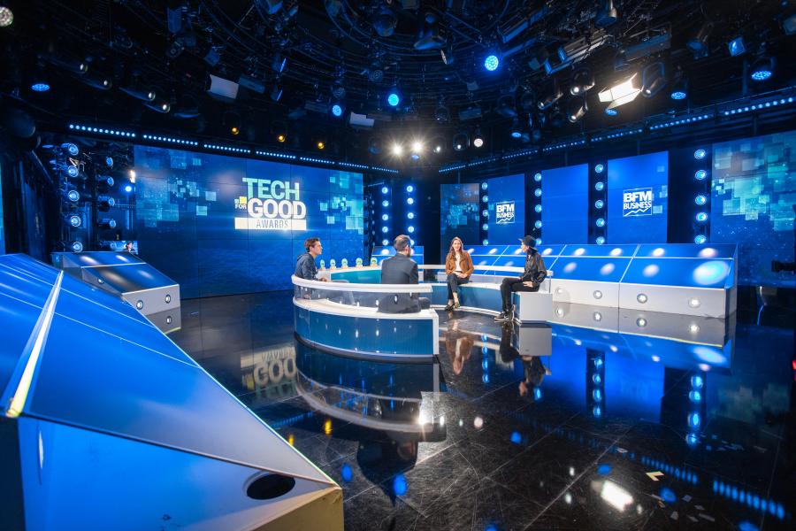 Reportage photo - Cérémonie Tech For Good Awards - BFM Business