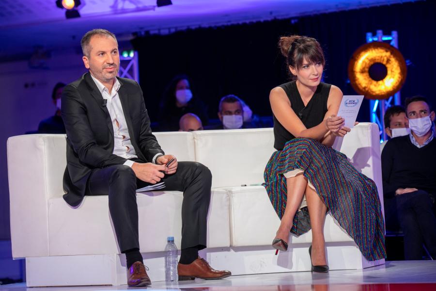reportage photos invites television - BFM Académie - Finale 2020