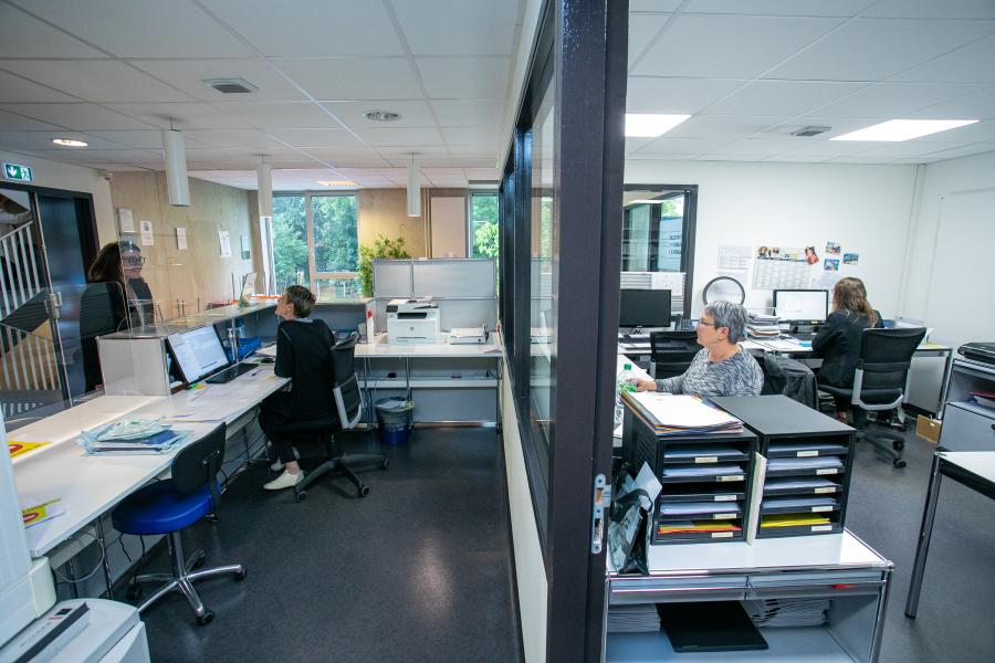 administration-clinique  - Reportage photo - Clinique Saint Antoine - Rouen (Groupe VIVALTO)