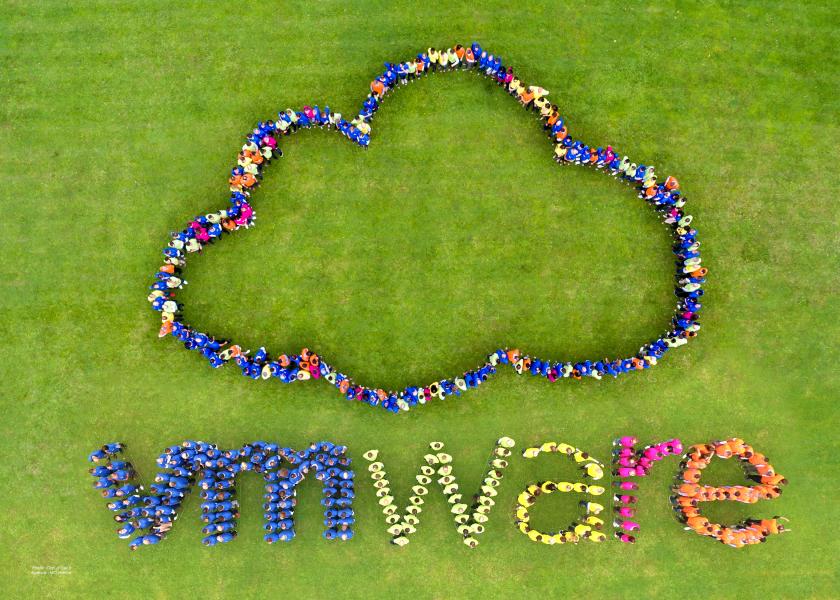 Making-of Logo Humain VM Ware